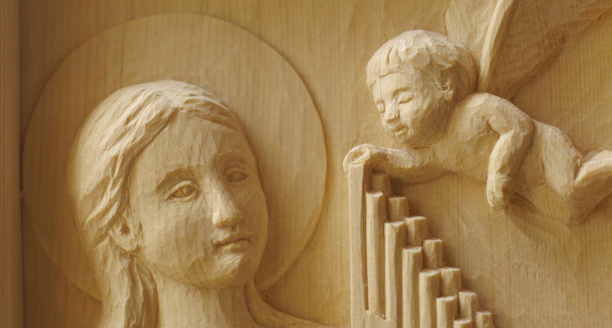聖セシリア像